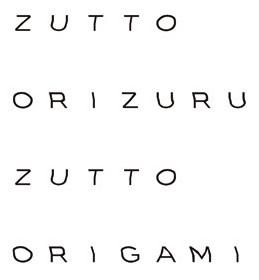 ZUTTO ORIZURU ZUTTO ORIGAMI